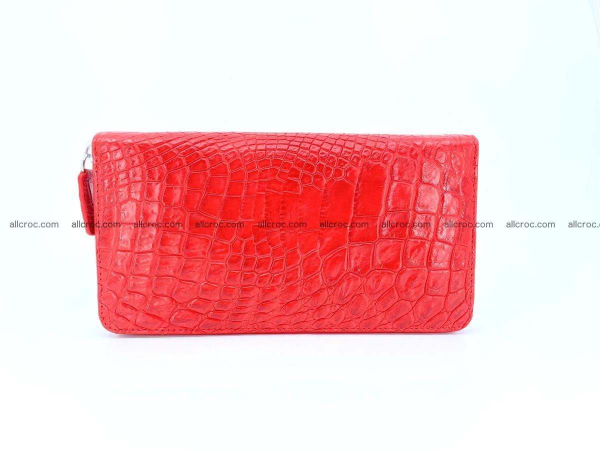 Crocodile skin zip wallet 531 Foto 2