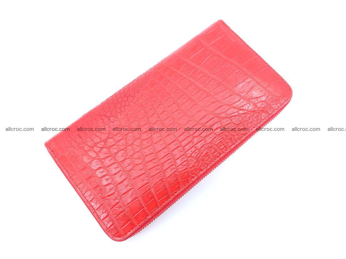 Crocodile skin zip wallet 531 Foto 6