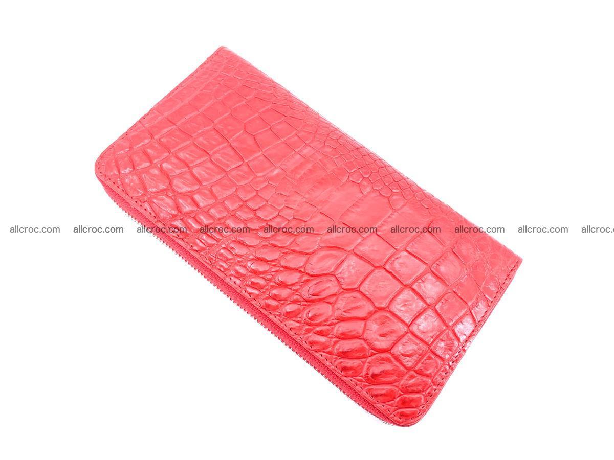 Crocodile skin zip wallet 531 Foto 7