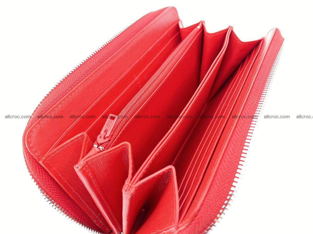 Crocodile skin zip wallet 531 Foto 11