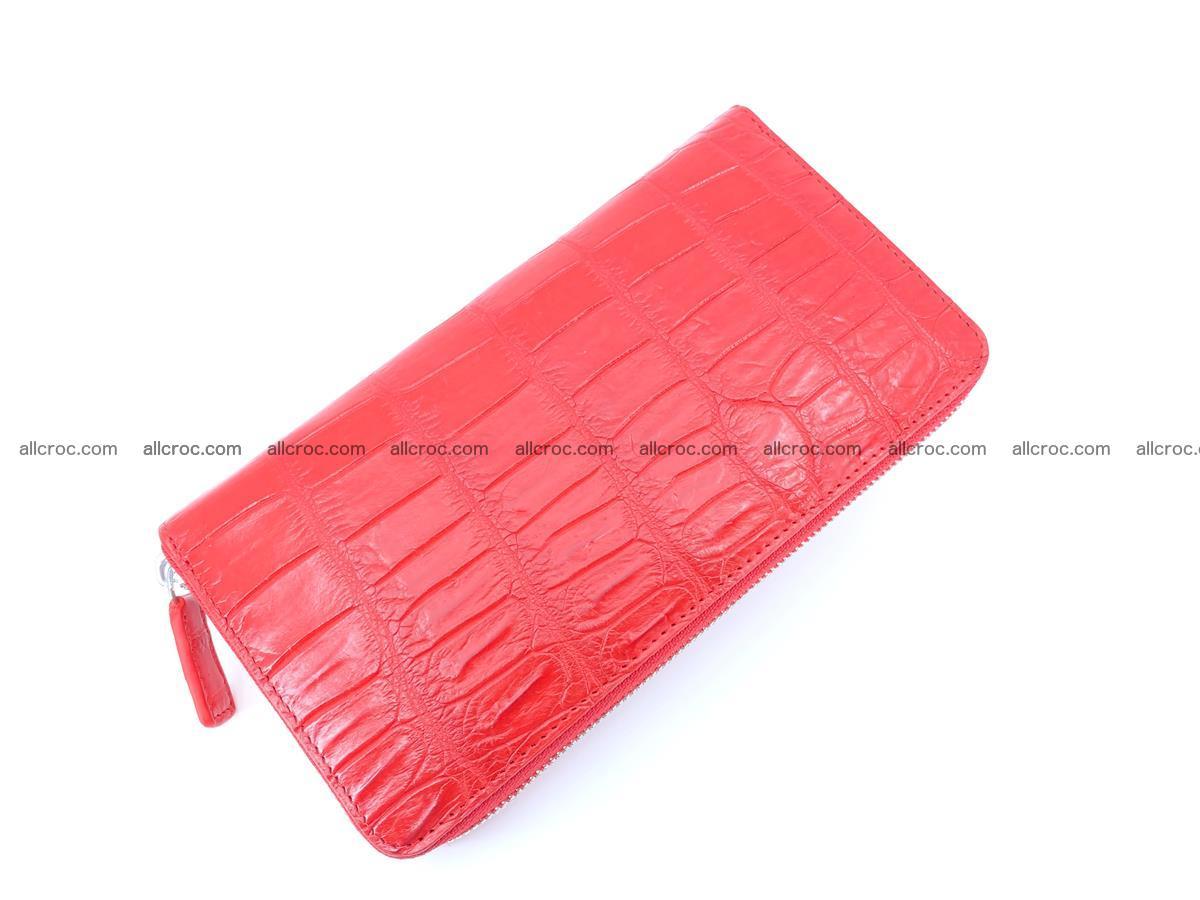 Crocodile skin zip wallet 530 Foto 8