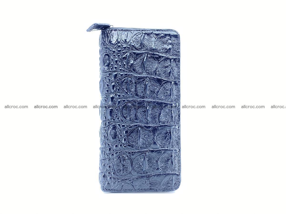 Crocodile skin zip wallet 529 Foto 3