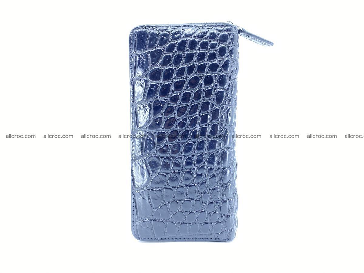 Crocodile skin zip wallet 529 Foto 4