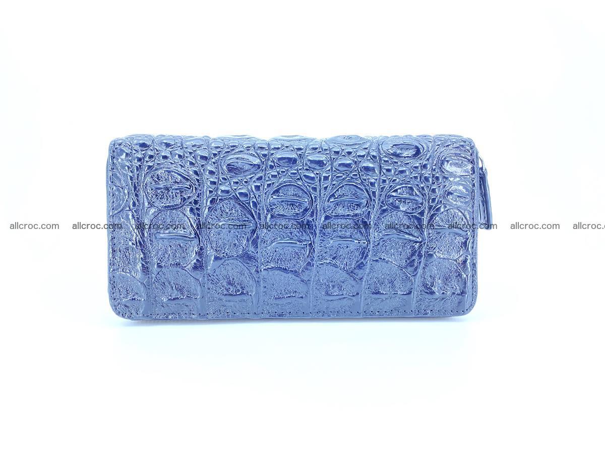 Crocodile skin zip wallet 529 Foto 1