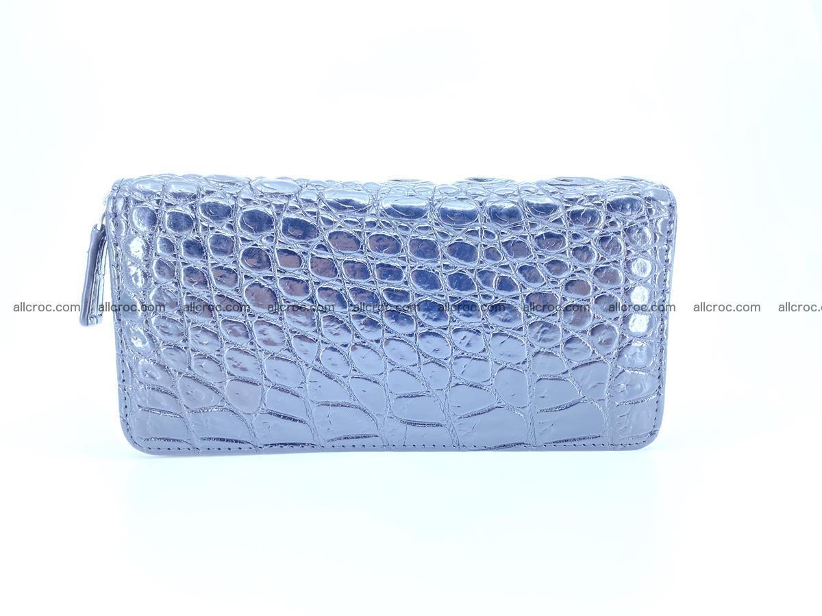 Crocodile skin zip wallet 529 Foto 2