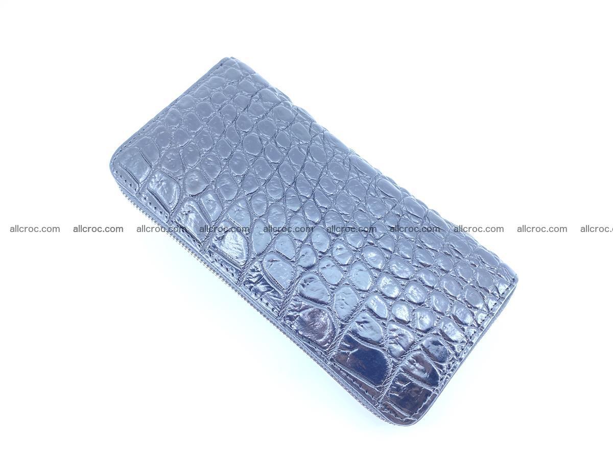 Crocodile skin zip wallet 529 Foto 6