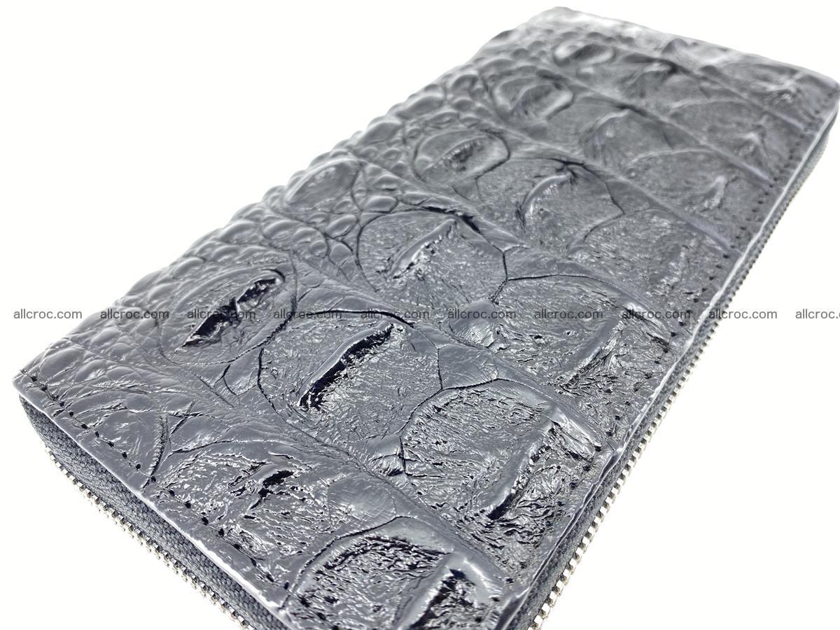 Crocodile skin zip wallet 529 Foto 7