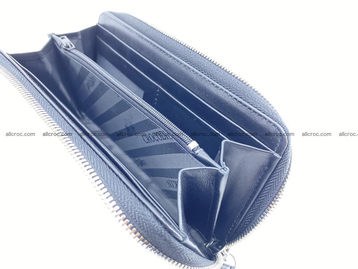 Crocodile skin zip wallet 529 Foto 11