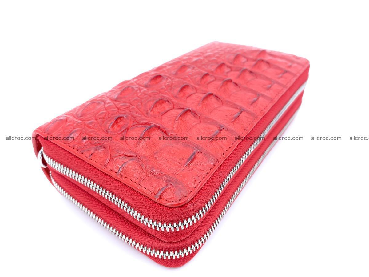 Crocodile skin wallet 2-zips 523 Foto 0