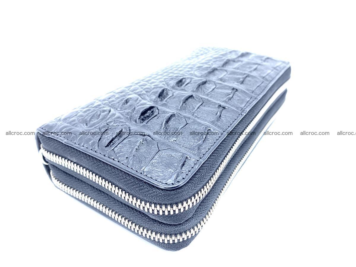 Crocodile skin wallet 2-zips 525 Foto 1