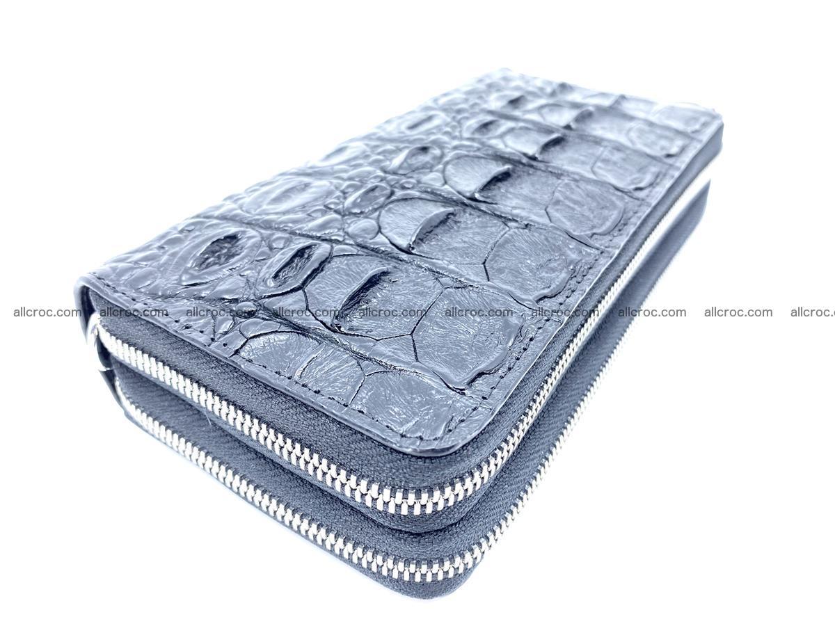 Crocodile skin wallet 2-zips 524 Foto 1