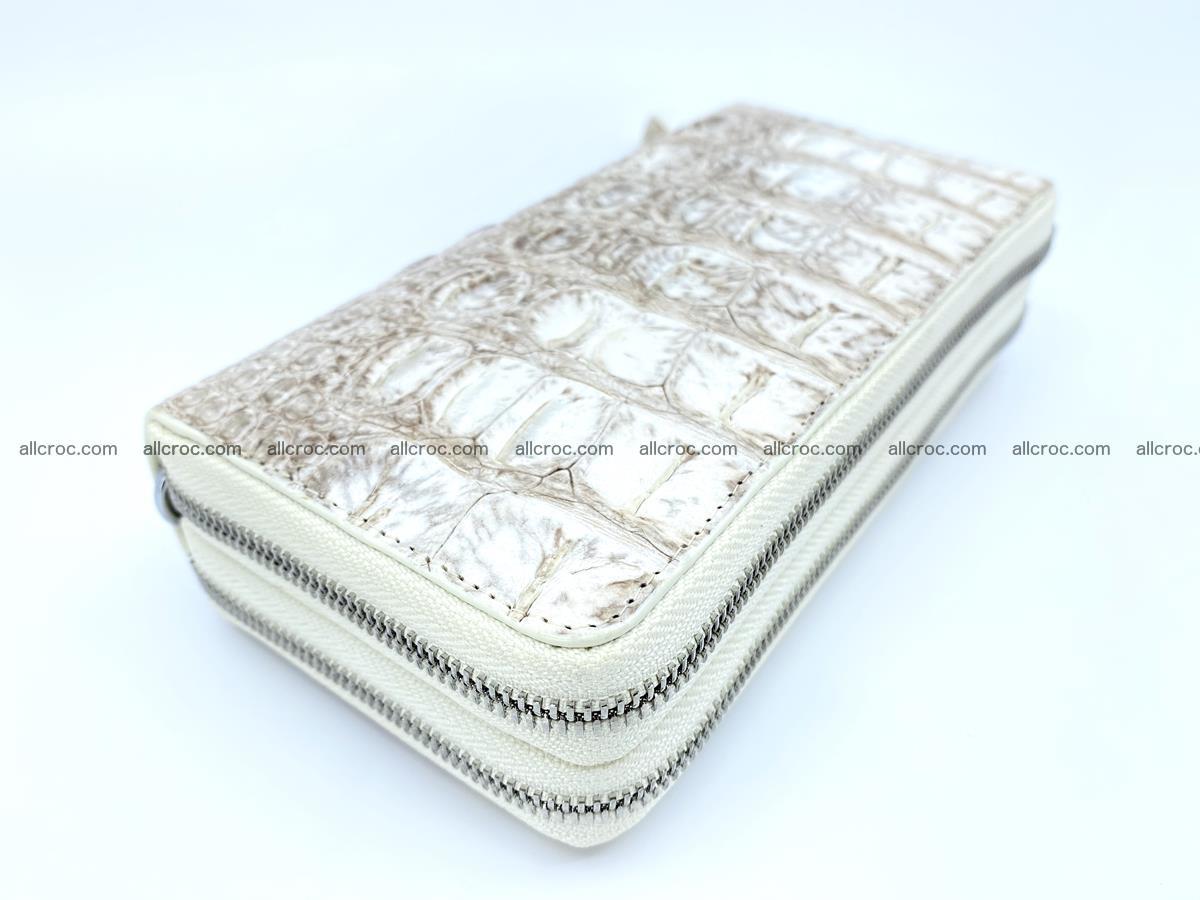 Crocodile skin wallet 2-zips 528 Foto 1