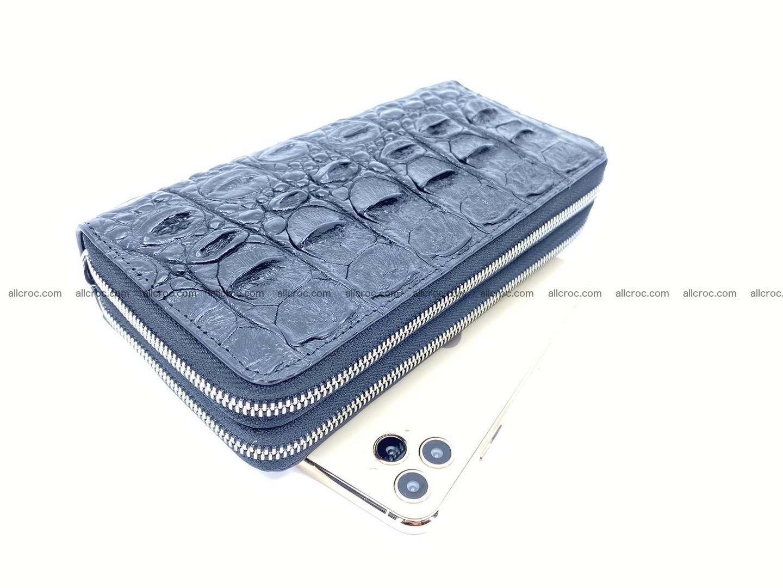 Crocodile skin wallet 2-zips 525 Foto 0