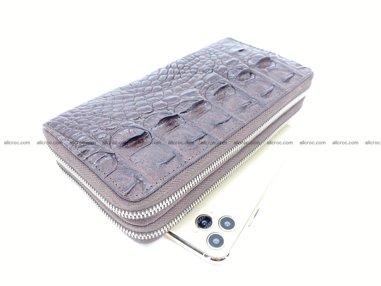 Crocodile skin wallet 2-zips 527 Foto 0