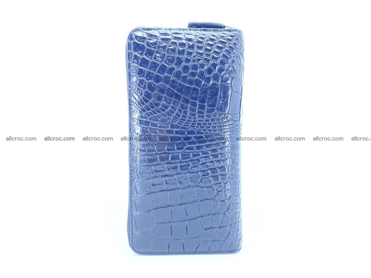Crocodile skin wallet 2-zips 525 Foto 5