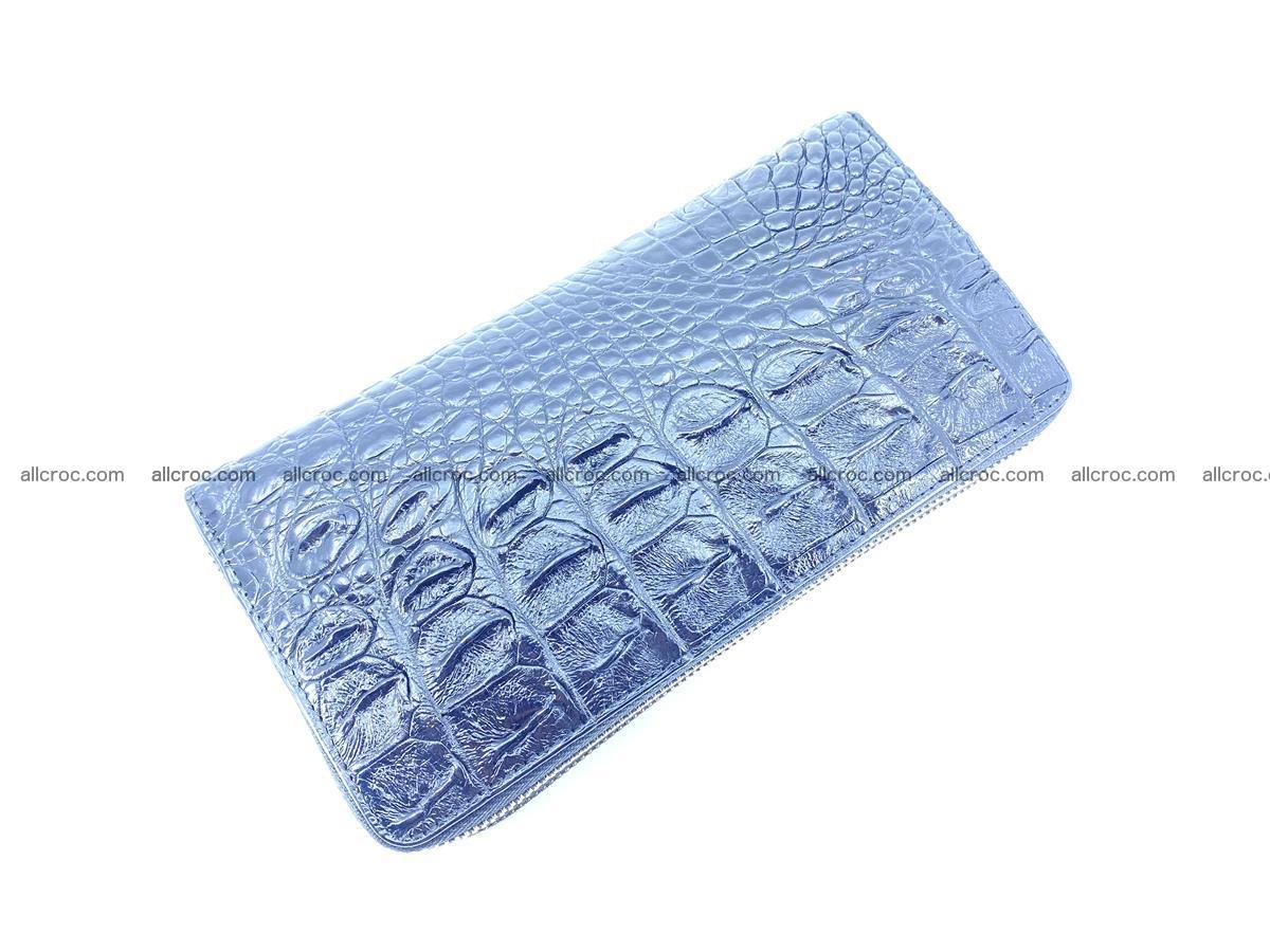 Crocodile skin wallet 2-zips 525 Foto 6