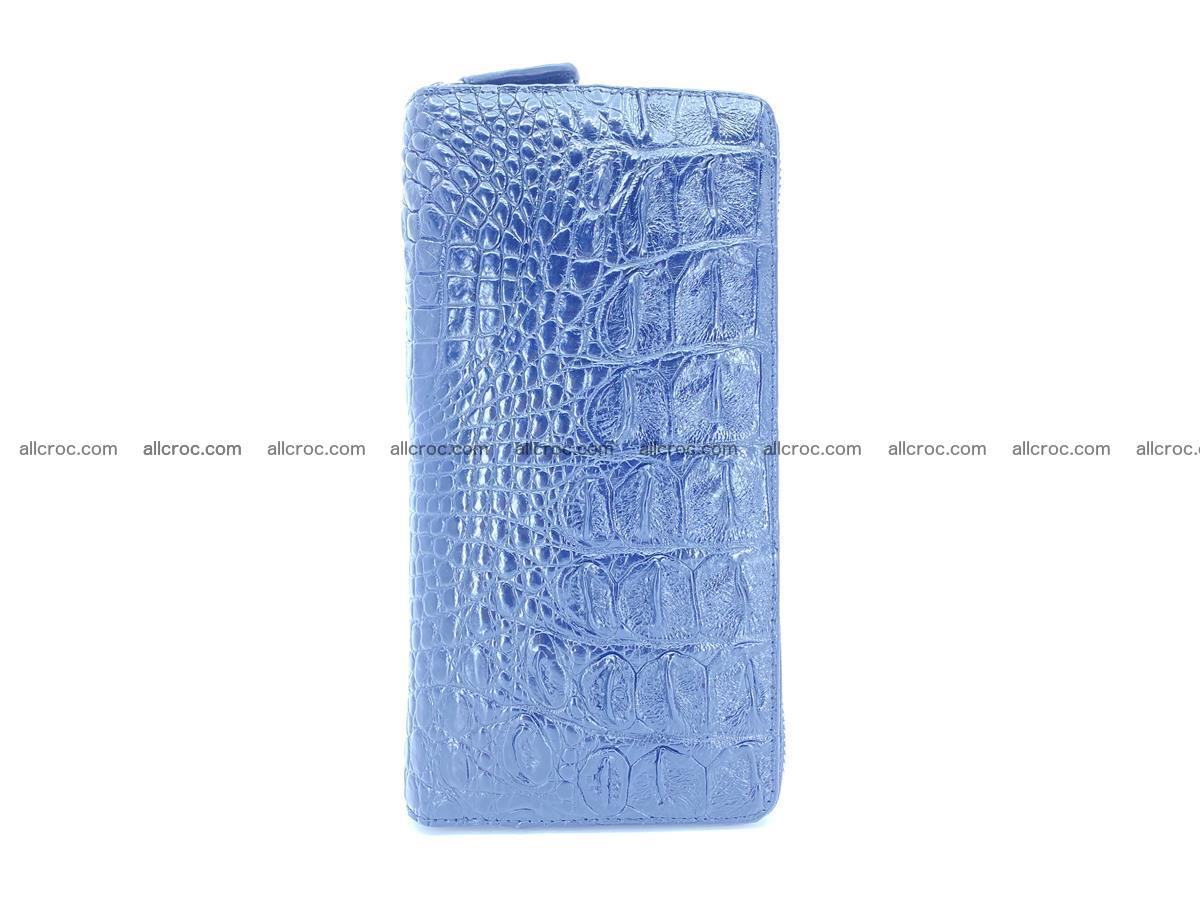 Crocodile skin wallet 2-zips 525 Foto 4
