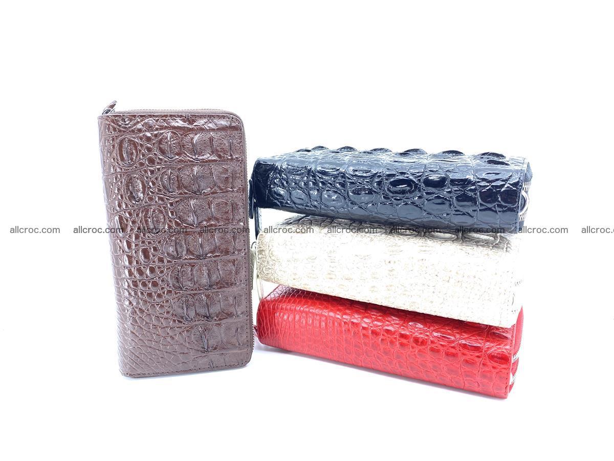 Crocodile skin wallet 2-zips 527 Foto 6