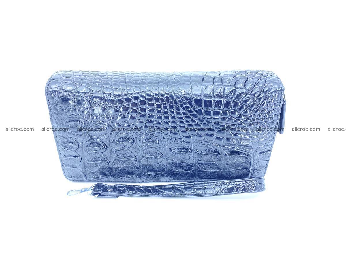 Crocodile skin wallet 2-zips 525 Foto 11