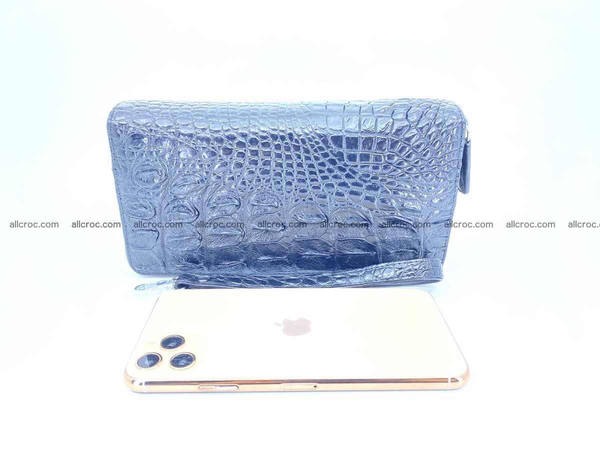 Crocodile skin wallet 2-zips 525 Foto 12