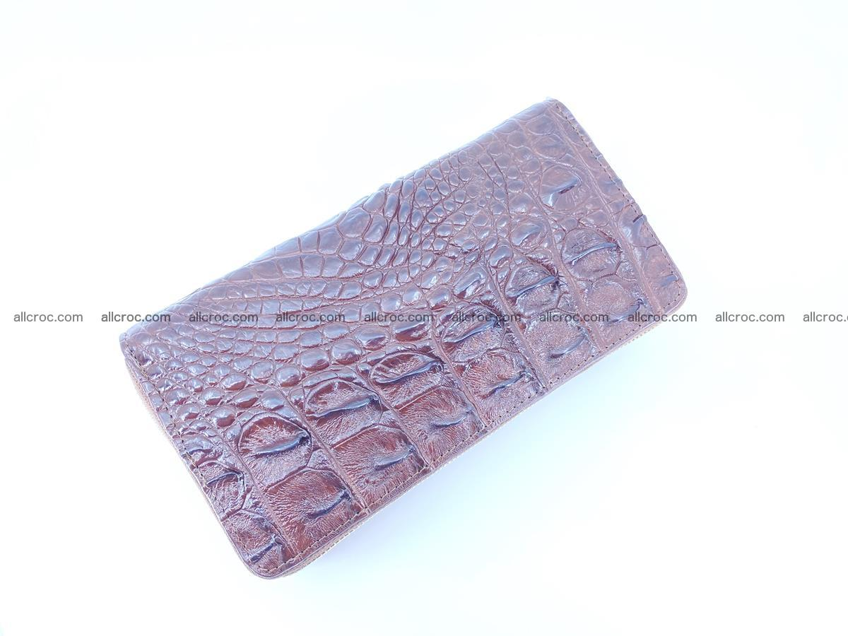 Crocodile skin wallet 2-zips 527 Foto 4