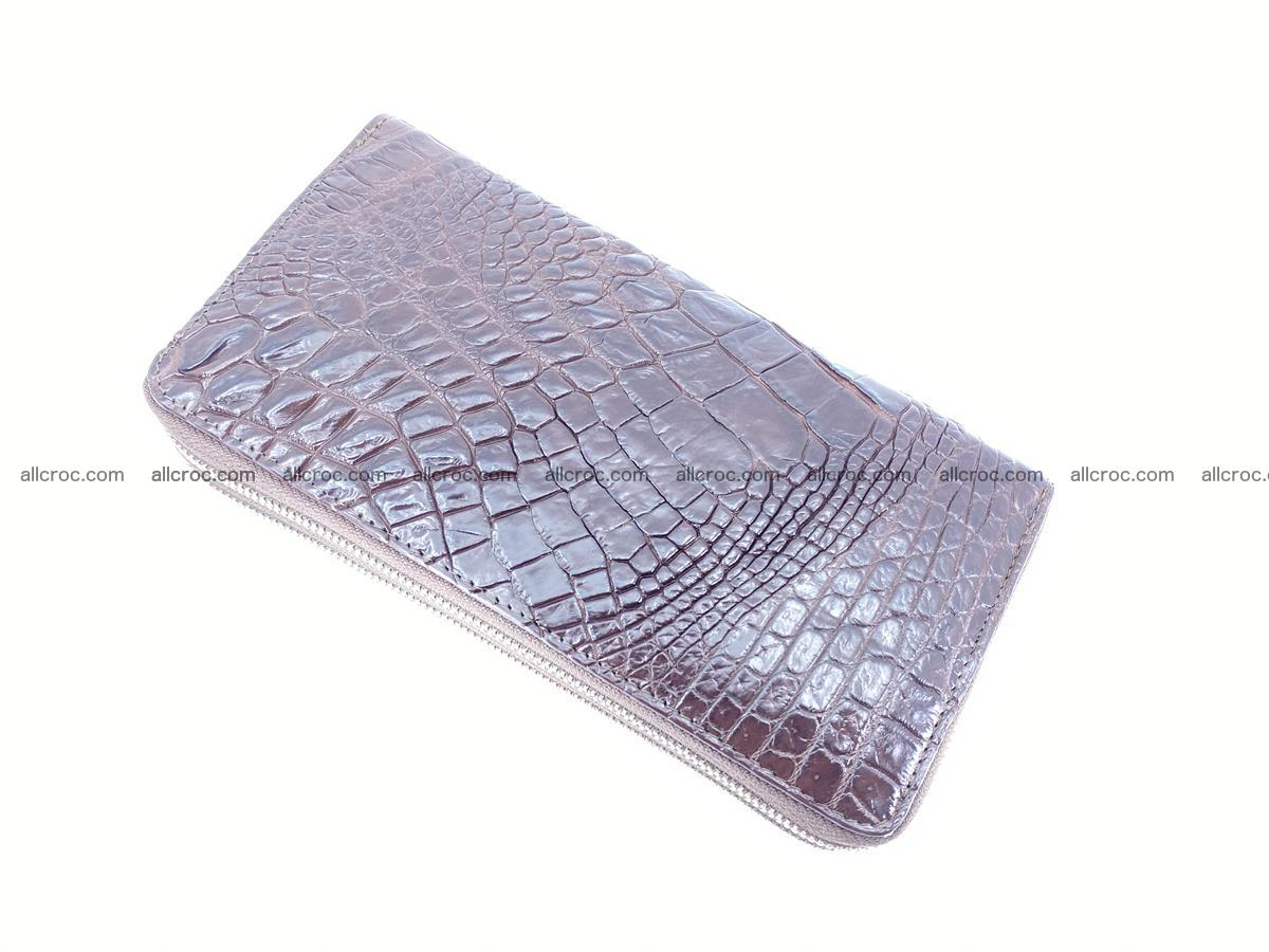 Crocodile skin wallet 2-zips 527 Foto 5