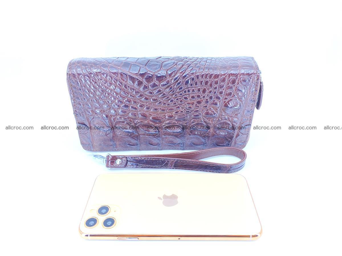 Crocodile skin wallet 2-zips 527 Foto 7