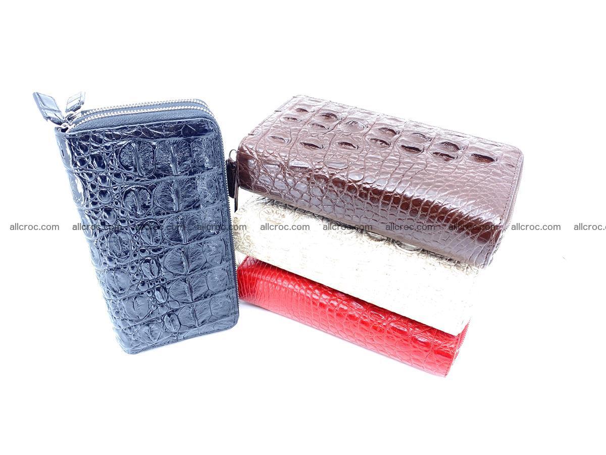 Crocodile skin wallet 2-zips 525 Foto 8
