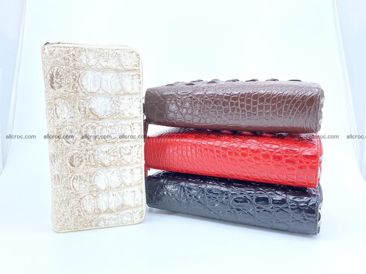 Crocodile skin wallet 2-zips 528 Foto 18