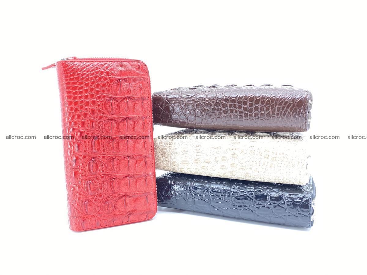 Crocodile skin wallet 2-zips 523 Foto 16