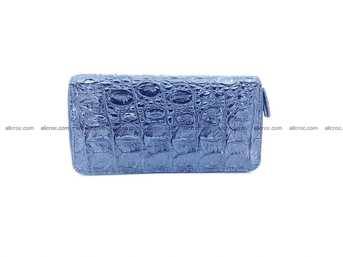 Crocodile skin wallet 2-zips 524 Foto 2