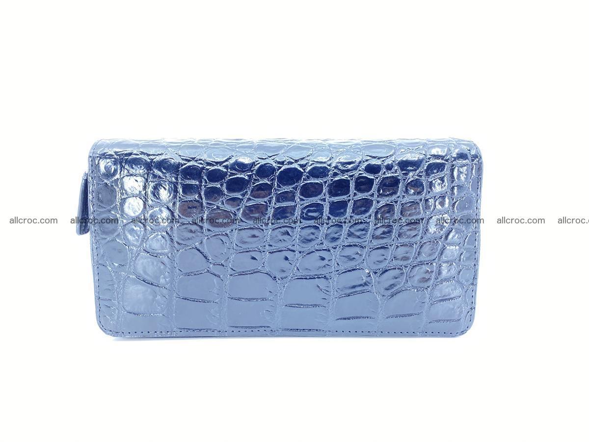 Crocodile skin wallet 2-zips 524 Foto 3