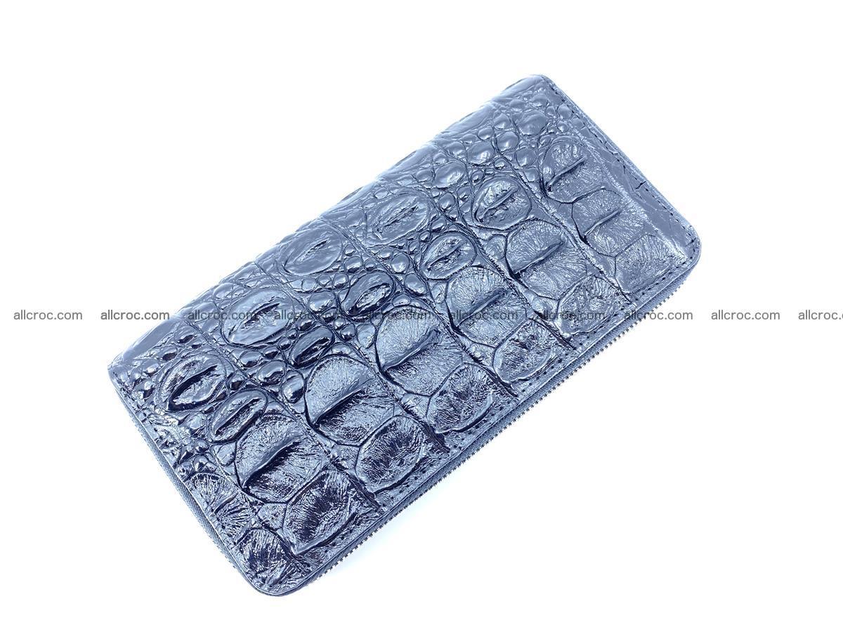 Crocodile skin wallet 2-zips 524 Foto 6