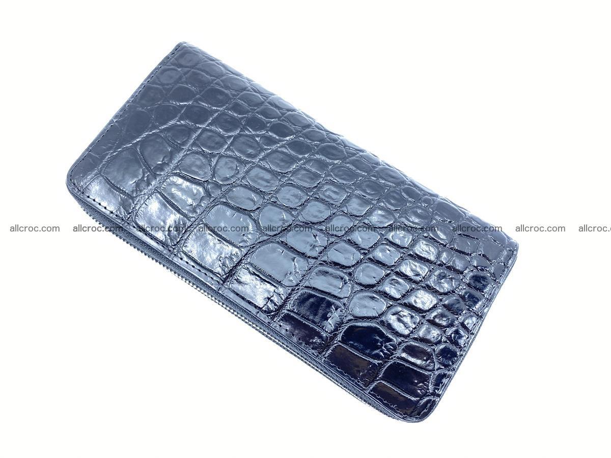 Crocodile skin wallet 2-zips 524 Foto 7