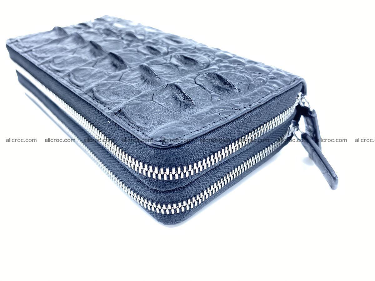 Crocodile skin wallet 2-zips 524 Foto 8