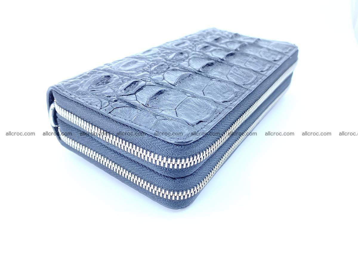 Crocodile skin wallet 2-zips 524 Foto 5