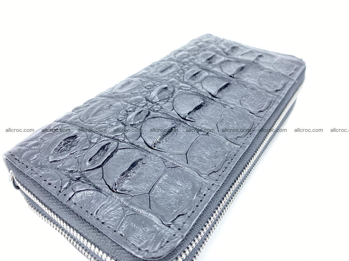 Crocodile skin wallet 2-zips 524 Foto 9