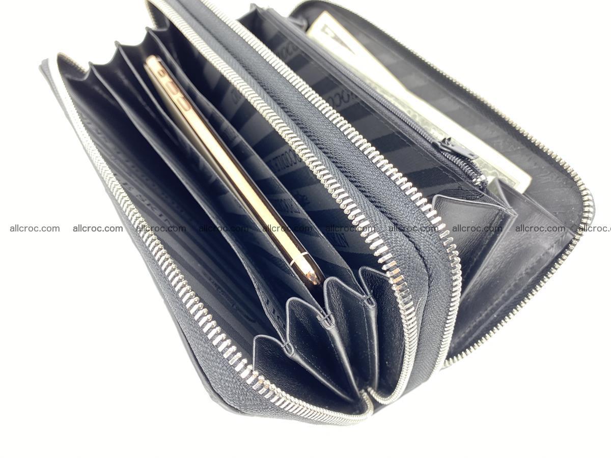 Crocodile skin wallet 2-zips 525 Foto 17