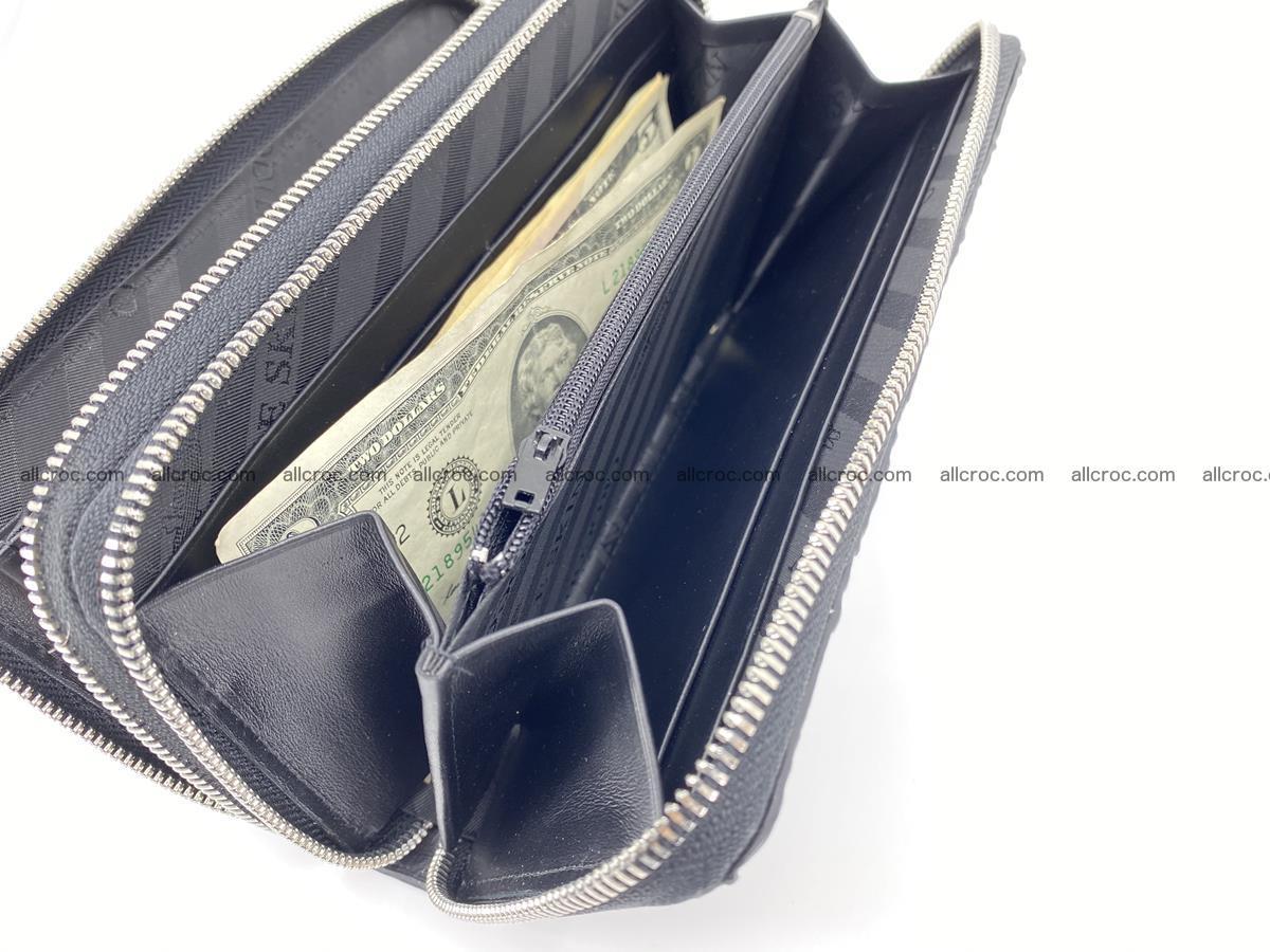 Crocodile skin wallet 2-zips 525 Foto 18