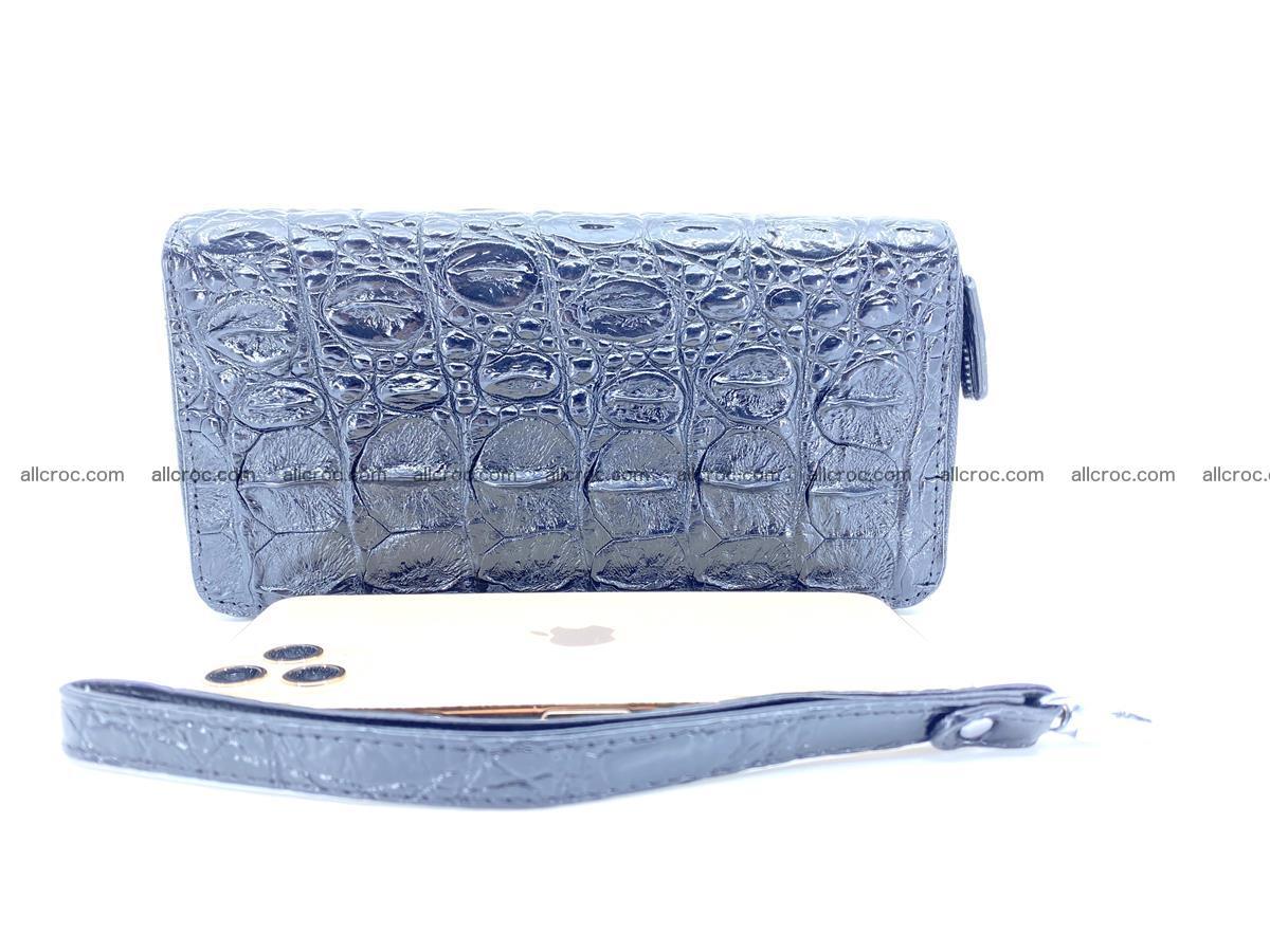 Crocodile skin wallet 2-zips 524 Foto 11