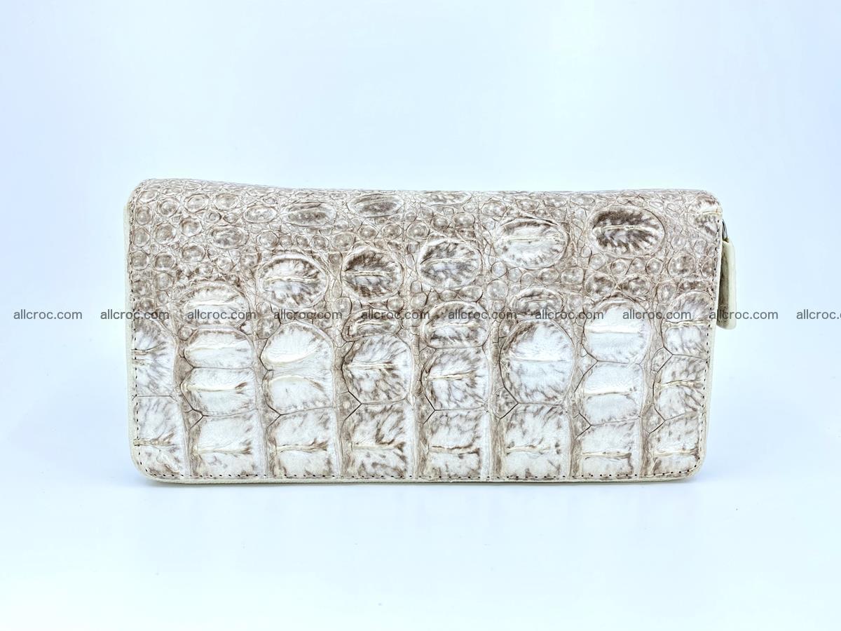 Crocodile skin wallet 2-zips 528 Foto 3