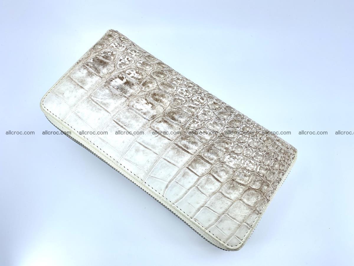 Crocodile skin wallet 2-zips 528 Foto 8