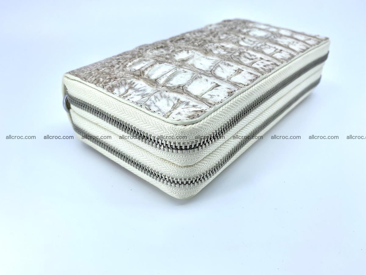 Crocodile skin wallet 2-zips 528 Foto 2