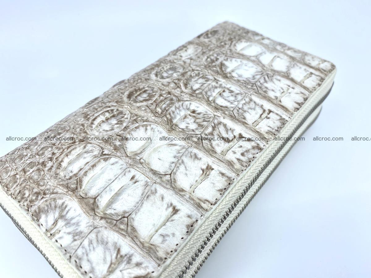 Crocodile skin wallet 2-zips 528 Foto 11