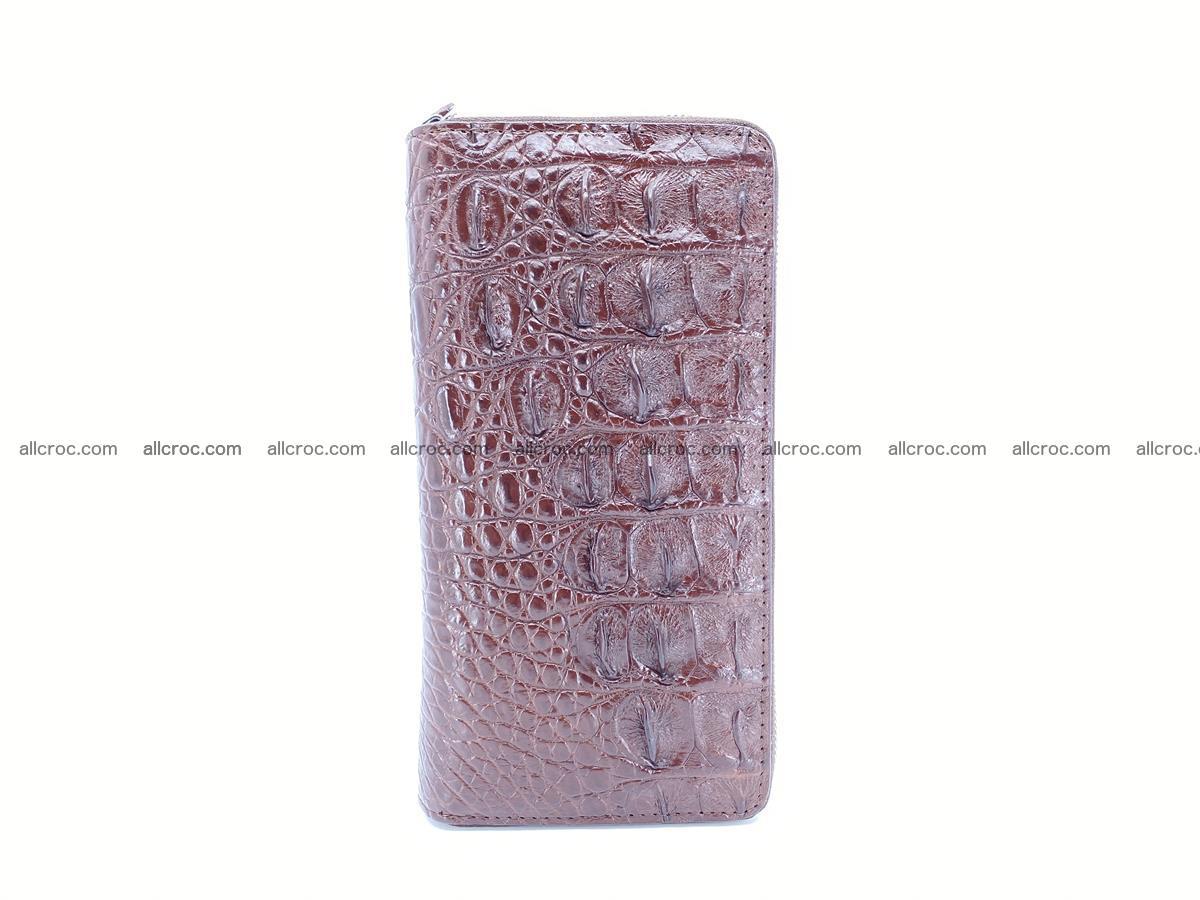Crocodile skin wallet 2-zips 526 Foto 3
