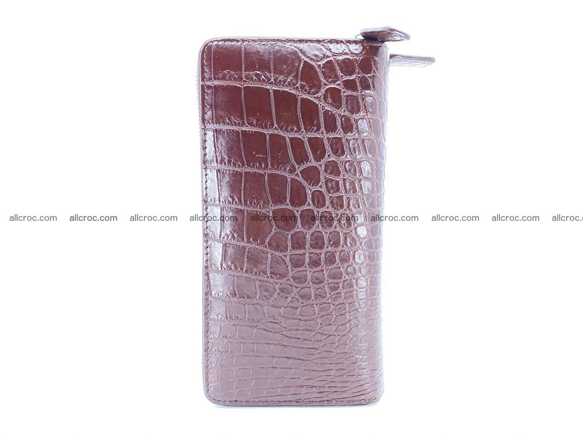 Crocodile skin wallet 2-zips 526 Foto 4