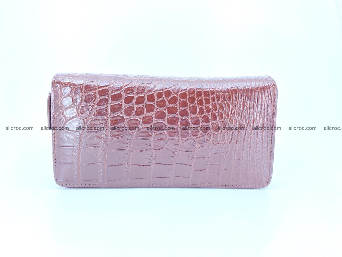 Crocodile skin wallet 2-zips 526 Foto 2