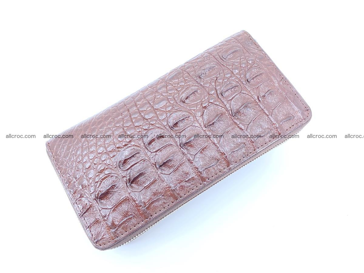 Crocodile skin wallet 2-zips 526 Foto 6