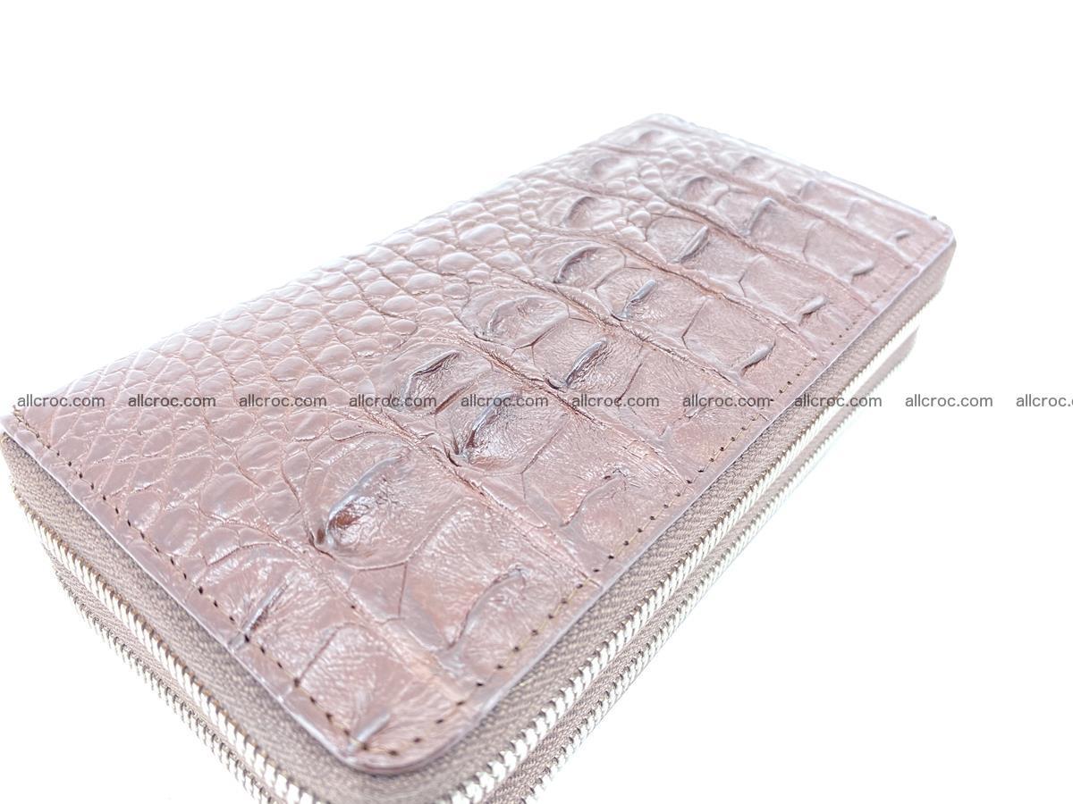 Crocodile skin wallet 2-zips 526 Foto 7
