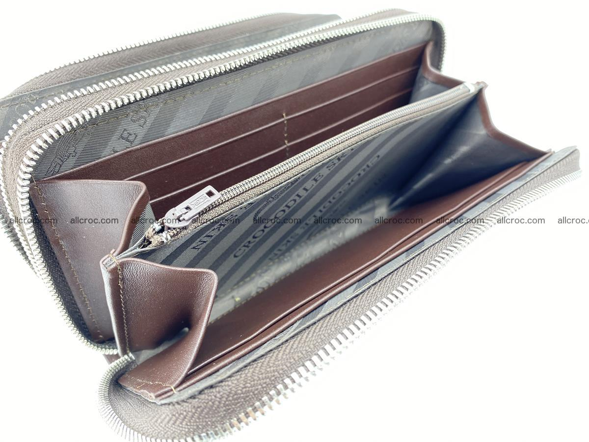 Crocodile skin wallet 2-zips 527 Foto 12